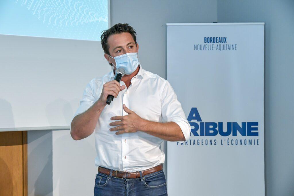 La Tribune : Forum Santé Innovation _ Bordeaux Crédit photo : agence APPA