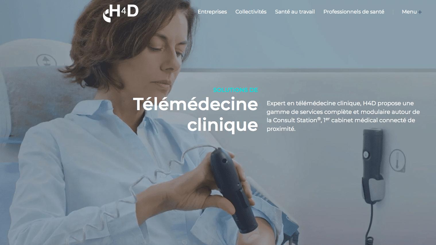 Cabines de téléconsultation H4D