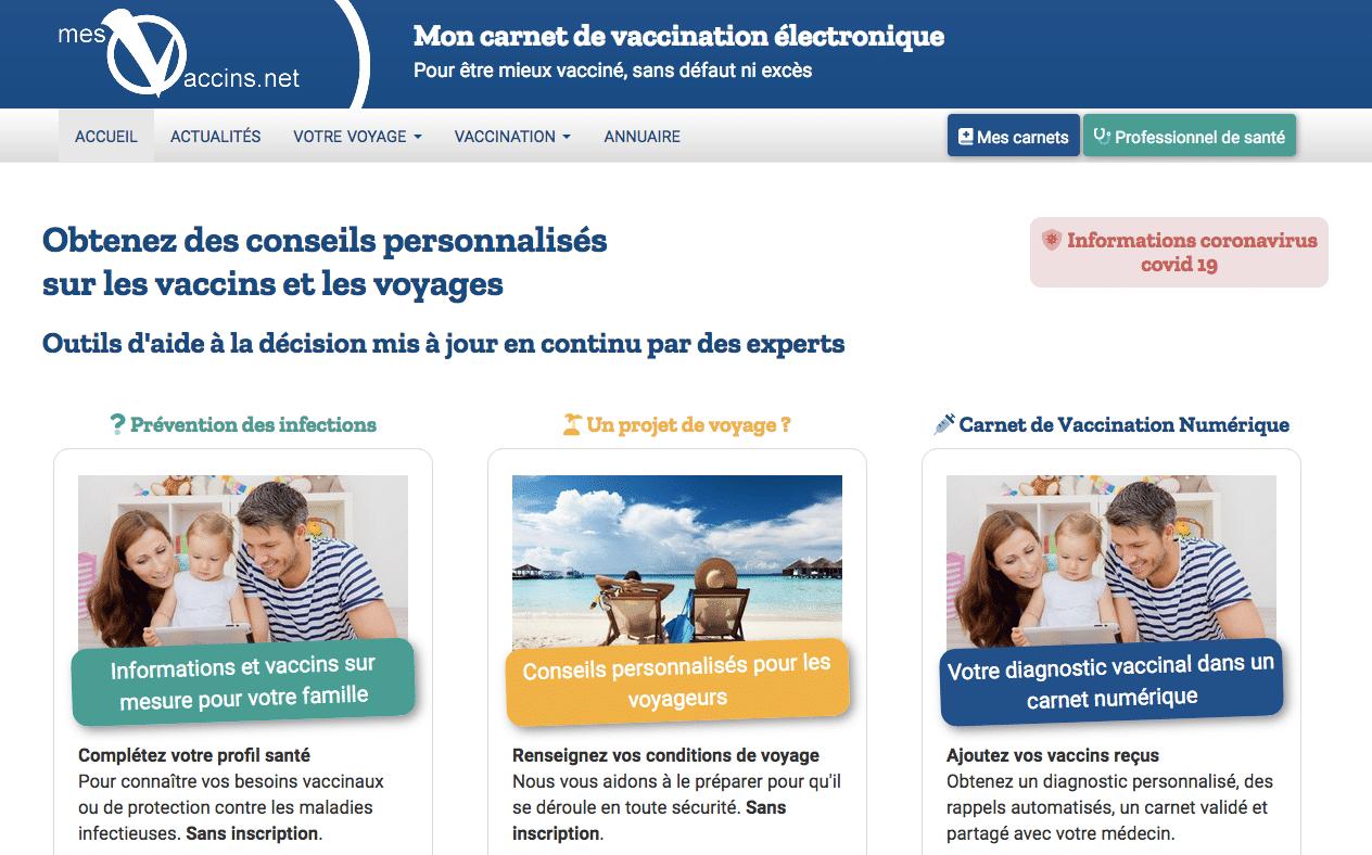 mesvaccins.net