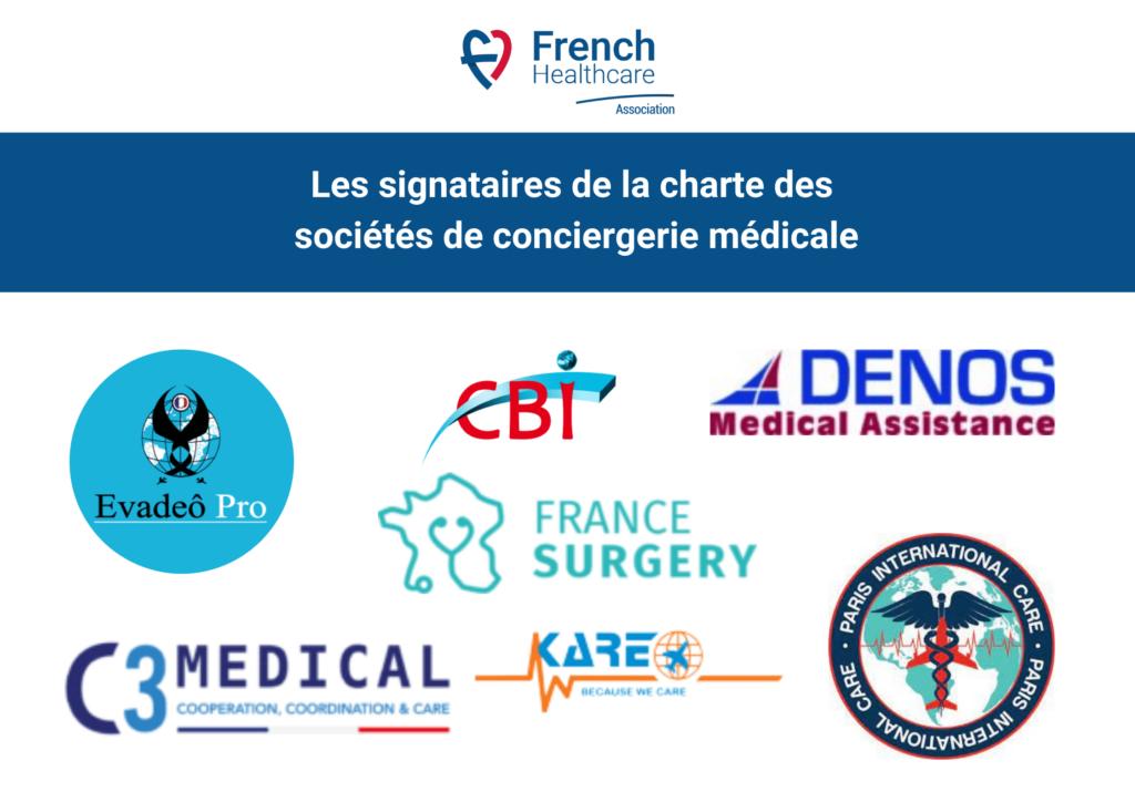 charte des sociétés de conciergerie médicale french healthcare association